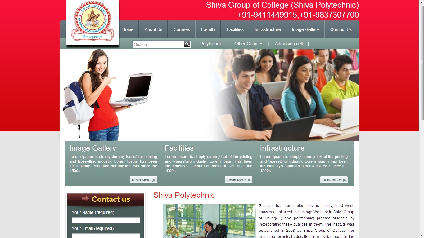 Details : Shiva Polytechnic College